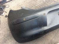 NISSAN MICRA IV K13 REAR BUMPER WITH PARKING SENSORS PRIMER 850221HB0H